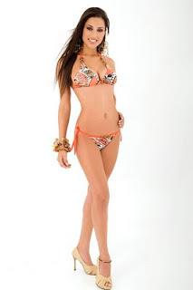 Yessica Mounton Gianella in Bikini