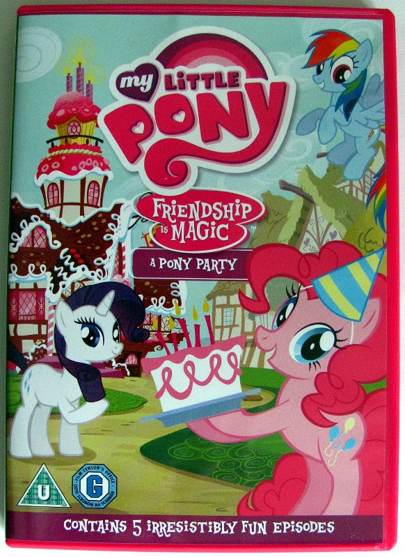 """A Pony Party"" DVD front cover"