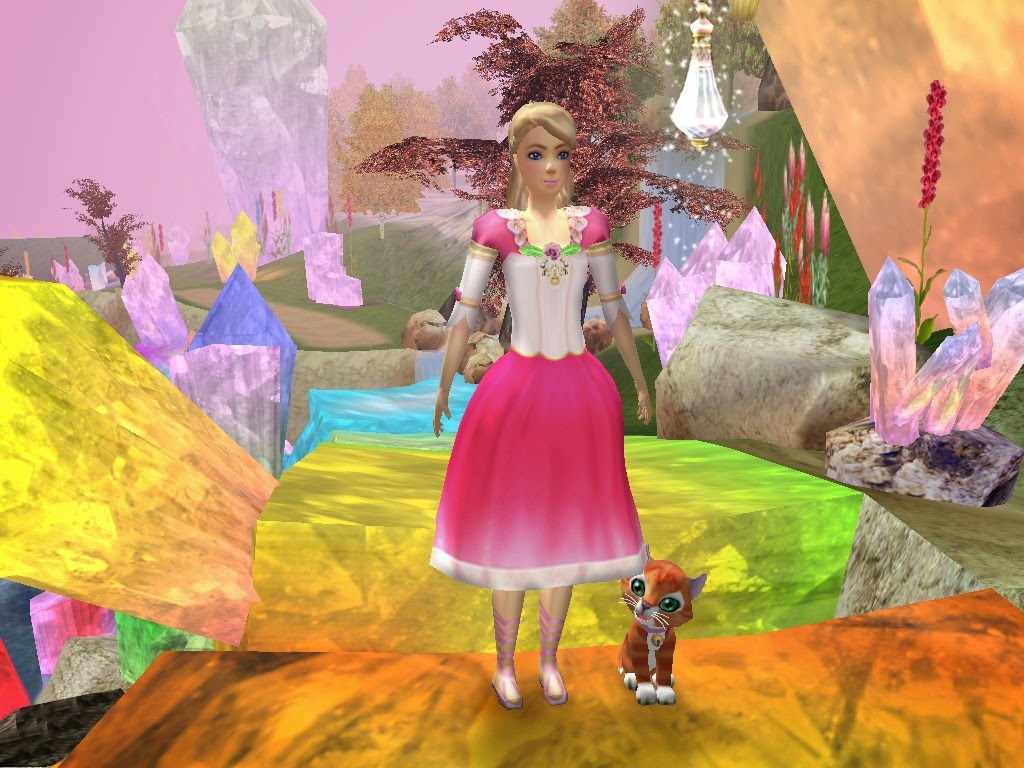 Regarder barbie au bal des douze princesses 2006 films de barbie en francais princesses - Barbie et la porte secrete streaming ...
