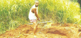 Married man poisons pregnant girlfriend,buries her in shallow grave