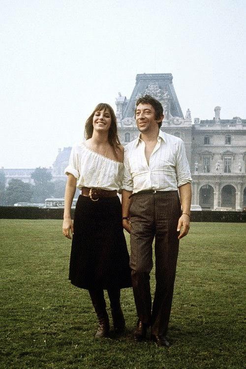 style-icon, Jane Birkin, Serge Gainsbourg