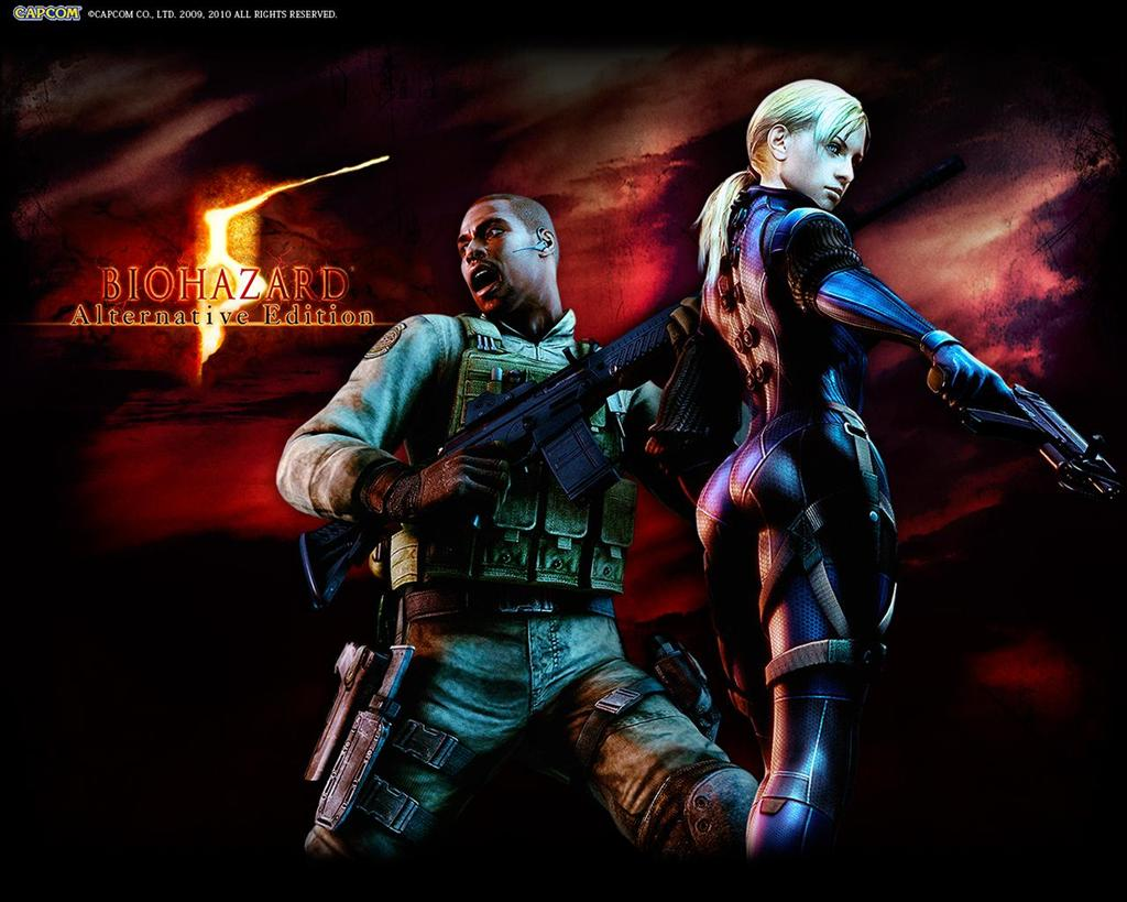 Resident Evil HD & Widescreen Wallpaper 0.789134521202928