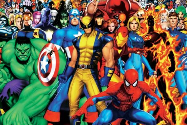 alle marvel superhelden