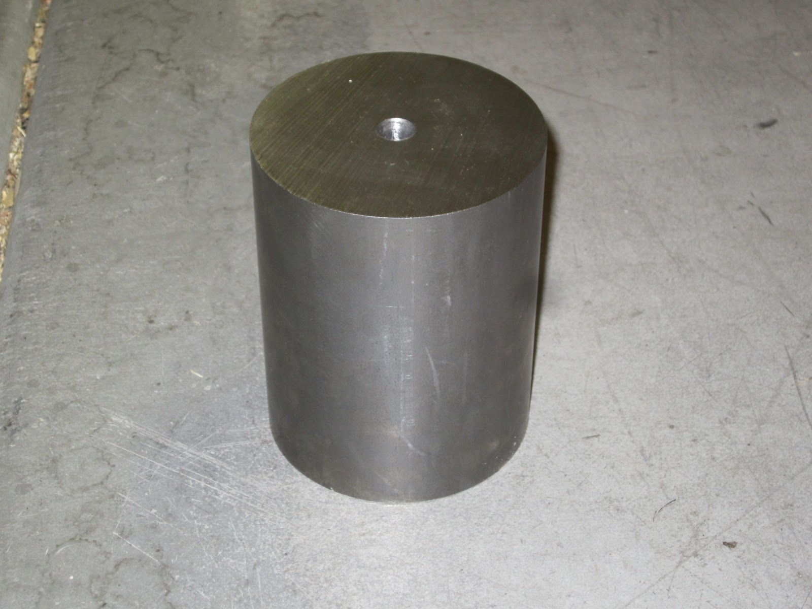 Steel Couplers With Witness Holes : Porsche electric conversion motor coupler part