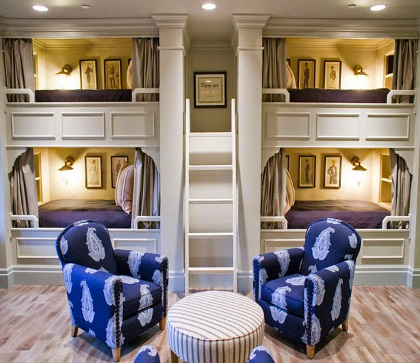 Dormitorios para cuatro ni os dormitorios colores y estilos for Dormitorios para 4 ninas