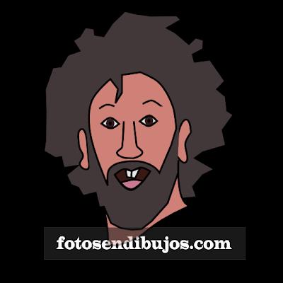 Imagen vectorizada - Dibujo o retrato