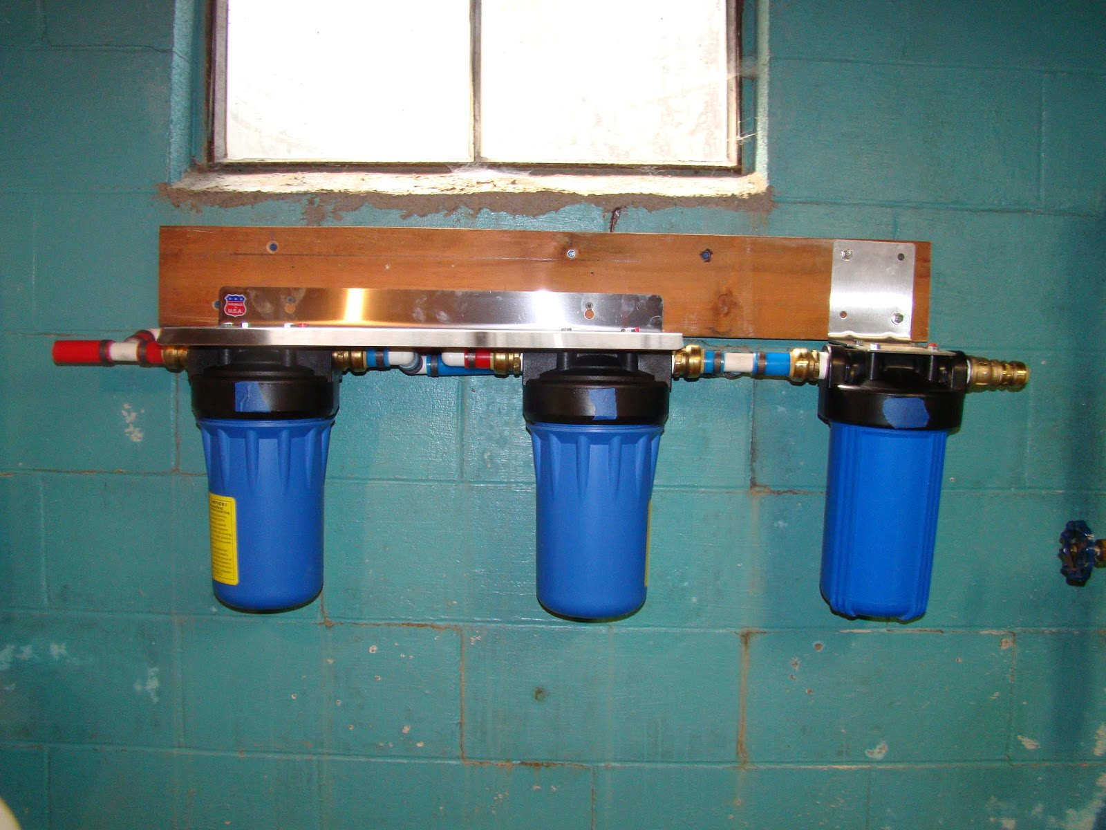 Water Filtration System ~ No More Bathing In Water With Chlorine And #1860B3