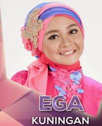 Ega D'Academy 2 dari Kuningan
