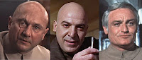 The changing faces of Ernst Stavro Blofeld