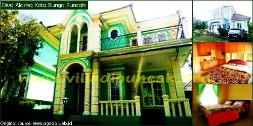 Villa Diva Alaska Puncak