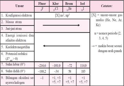 Unsur halogen tabel periodik unsur unsur pt sentra kriya edukasi unsur halogen urtaz Images