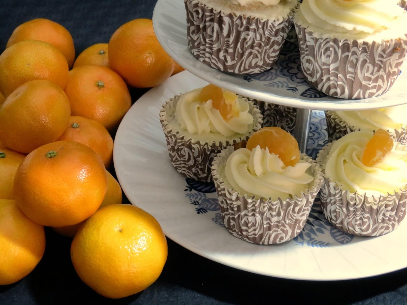 cupcake Lleida, Cupcakes,El teu cupcake, Lleida, Cupcake de xocolata blanca amb mandarina