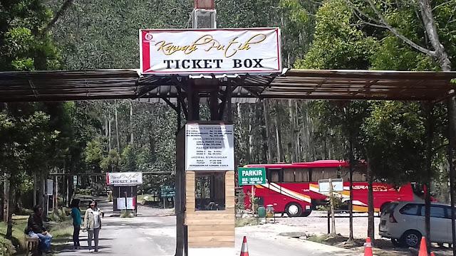 Berapa tiket masuk Kawah Putih