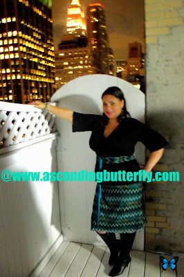 Ascending Butterfly wearing IGIGI during the the Torrid Holiday Collection 2013 Preview Party in New York City