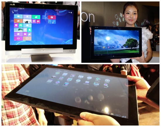 Asus Transformer AiO, Tablet PC Hybrid Windows 8 dan Android Raksasa Layar 18,4 inci