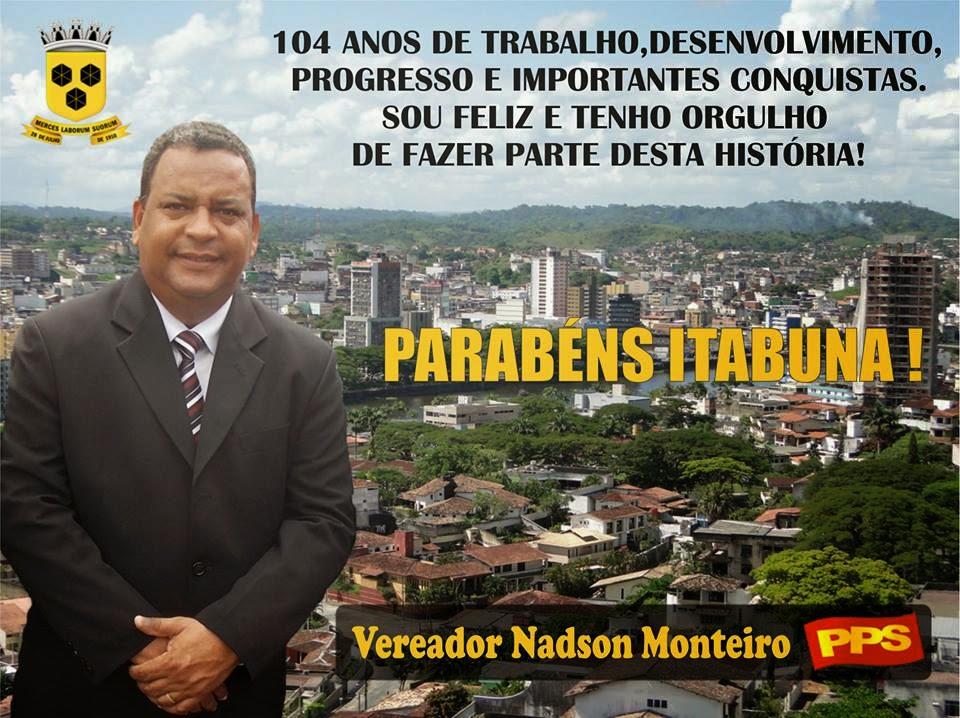 MENSAGEM VEREADOR NADSON MONTEIRO