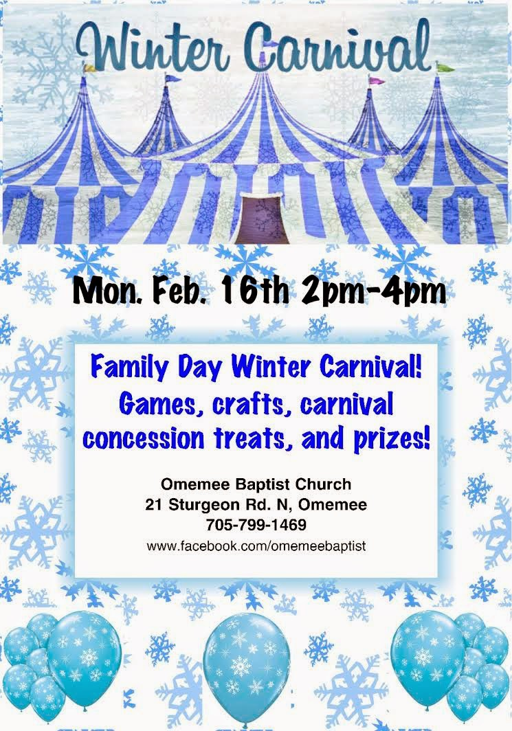 image February 16 2015 Omemee Winter Carnival Games,crafts,carnival,concession treats,prizes