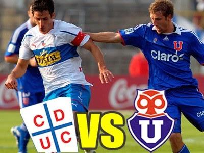 Ver Universidad de Chile vs Universidad Catolica En Vivo Online Gratis