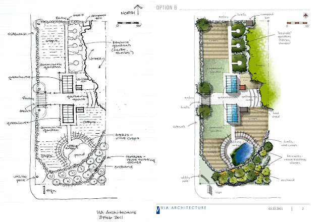 How to create an attractive site plan using hand drawing for Site plan drawing online