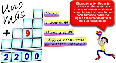 Descubre el número, Desafíos matemáticos, Problemas matemáticos, Acertijos matemáticos, Problemas de lógica, Problemas para pensar, Historia de Colombia
