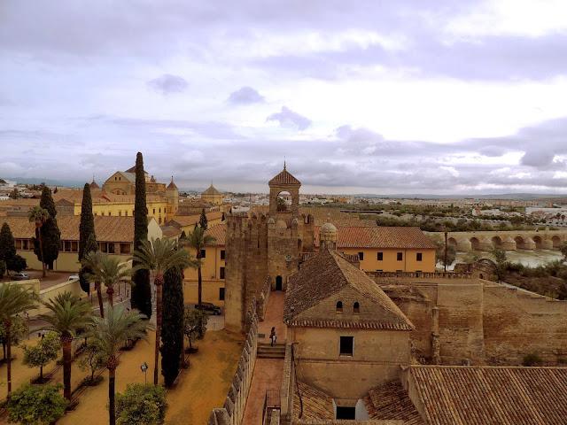 Panorama miasta z wieży Alkazaru