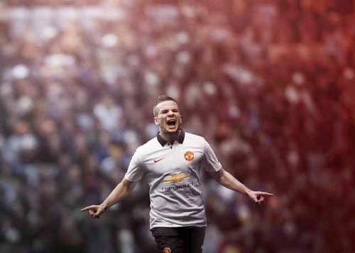 Nike released 2014-15 Manchester United away kit