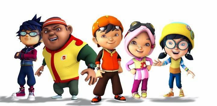Kumpulan Foto Kartun Boboiboy di MNCTV