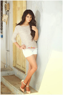 Deepa Sannidhi in spicy White Shorts and Lovely T Shirt