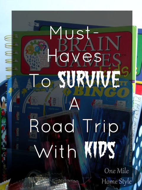 Must Haves to Make Road Trips with Kids Easy - One Mile Home Style