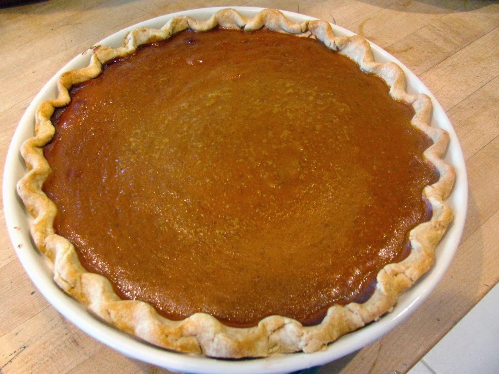 method of pumpkin pie