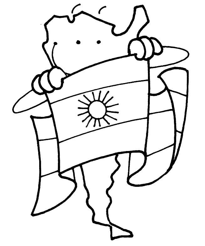 Dibujos De La Creacion De La Bandera Argentina | MEJOR CONJUNTO DE