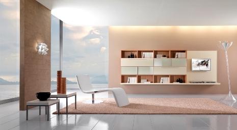 Decoración de Salas Modernas en Beige y Crema  Ideas para ...