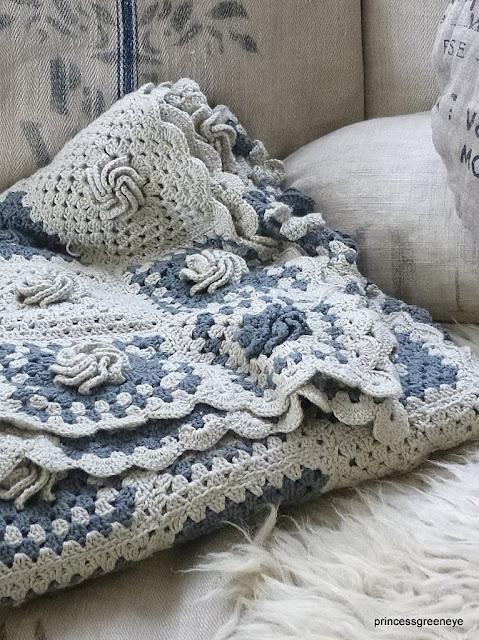 princessgreeneye granny decke zwischenbericht mit anleitung. Black Bedroom Furniture Sets. Home Design Ideas