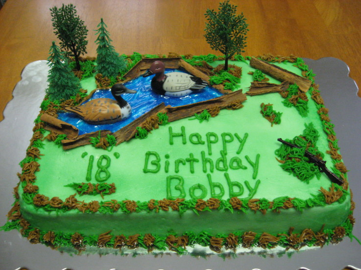 Special Day Cakes: Hunting Birthday Cakes Ideas