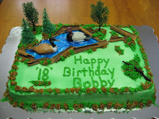 Duck Hunting Birthday Cake Decorating Ideas