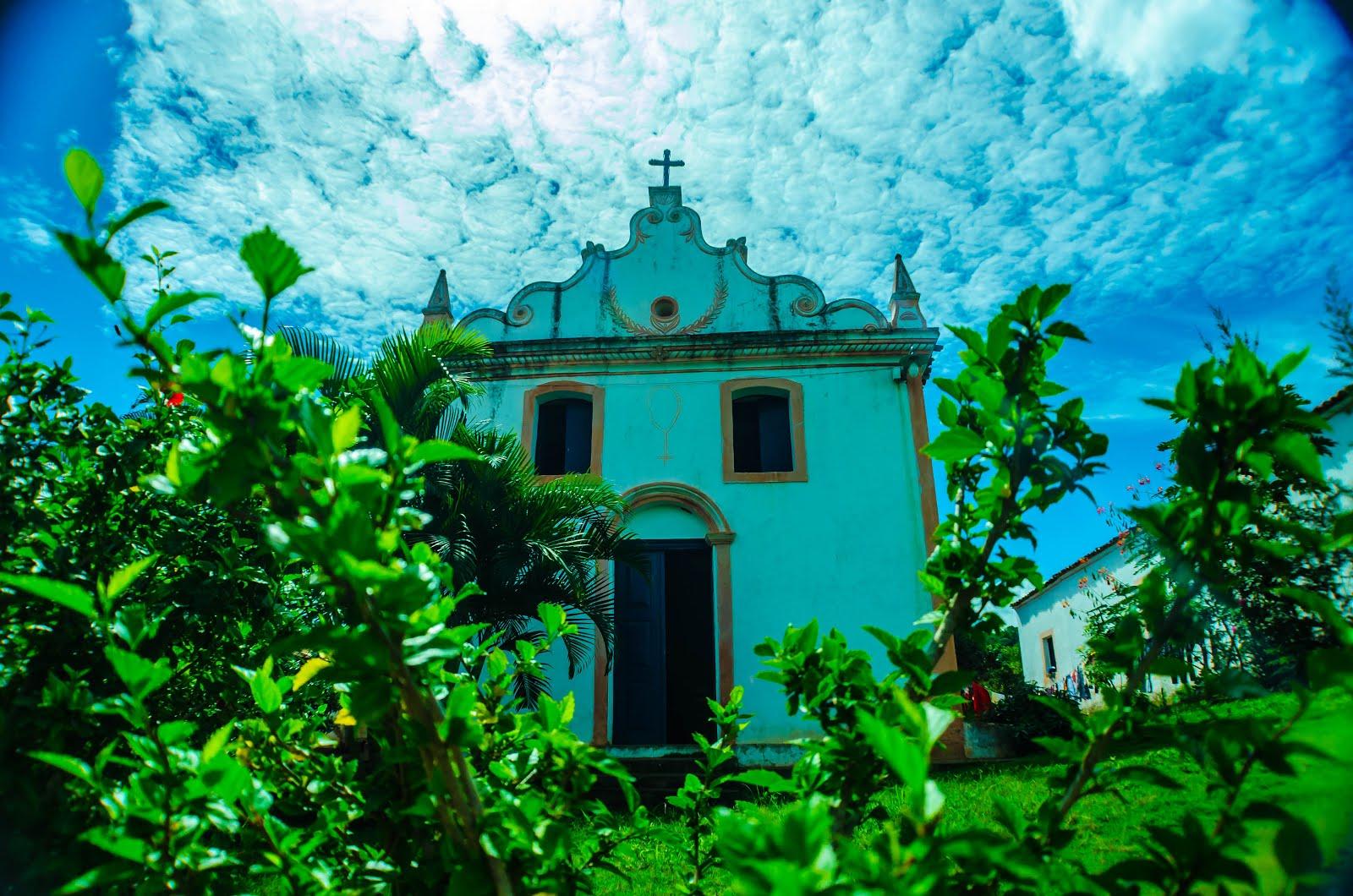 IGREJINHA DO ENGENHO DE CACHAÇA A COBIÇADA - SERRARIA, PB. FOTO DE GILMAR LEITE