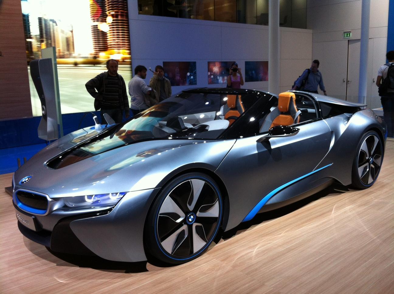 My E-Life Now !: BMW i8 Spyder