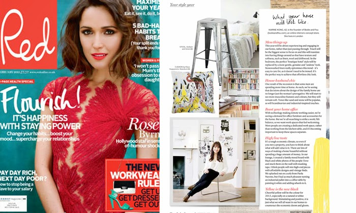 BODIE and FOU's Founder Karine Kong in RED magazine