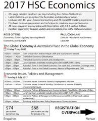2017 HSC Economics lectures