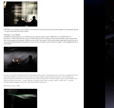 Clinker - Gary James Joynes - Live Cinema