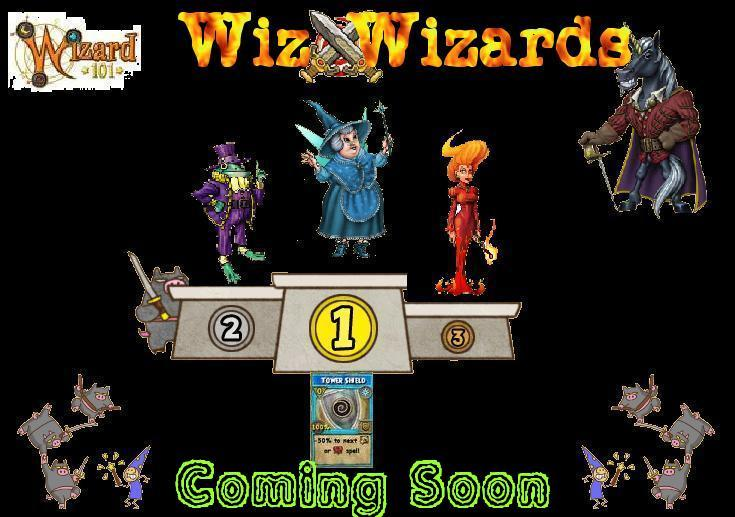 Wiz Wizards Game Show Coming Soon
