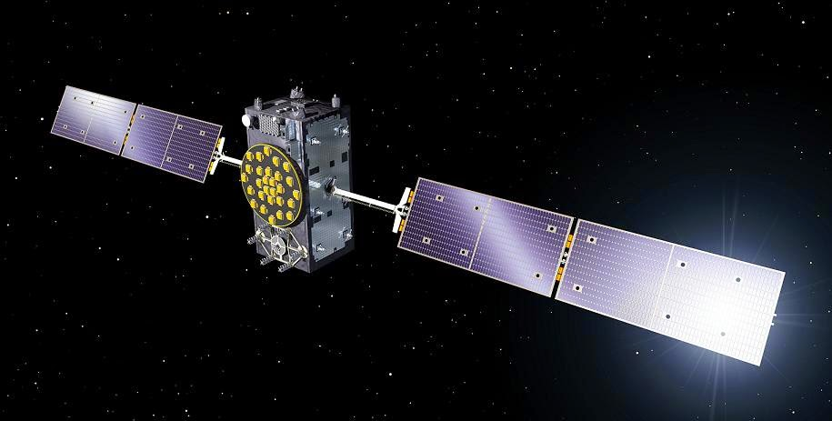 Galileo Full Operational Capability (FOC) satellite. Credit: ESA-P. Carril