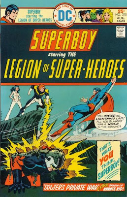 Superboy and the Legion of Super-Heroes #210