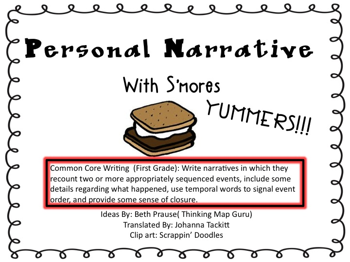 personal narrative accepting a new dad This video teaches students how to make their personal narratives better by editing students will learn how to edit spelling, capitalization, and.