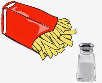 cantidad sodio papas fritas