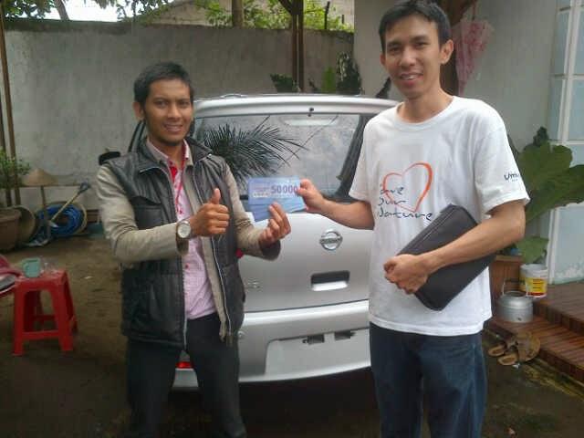 Terimakasih atas kepercayaan Ko Hendri & Keluarga yg telah membeli Nissan Grand Livina melalui media www.touchnissan.com.  Semoga Berkah ya Koko...