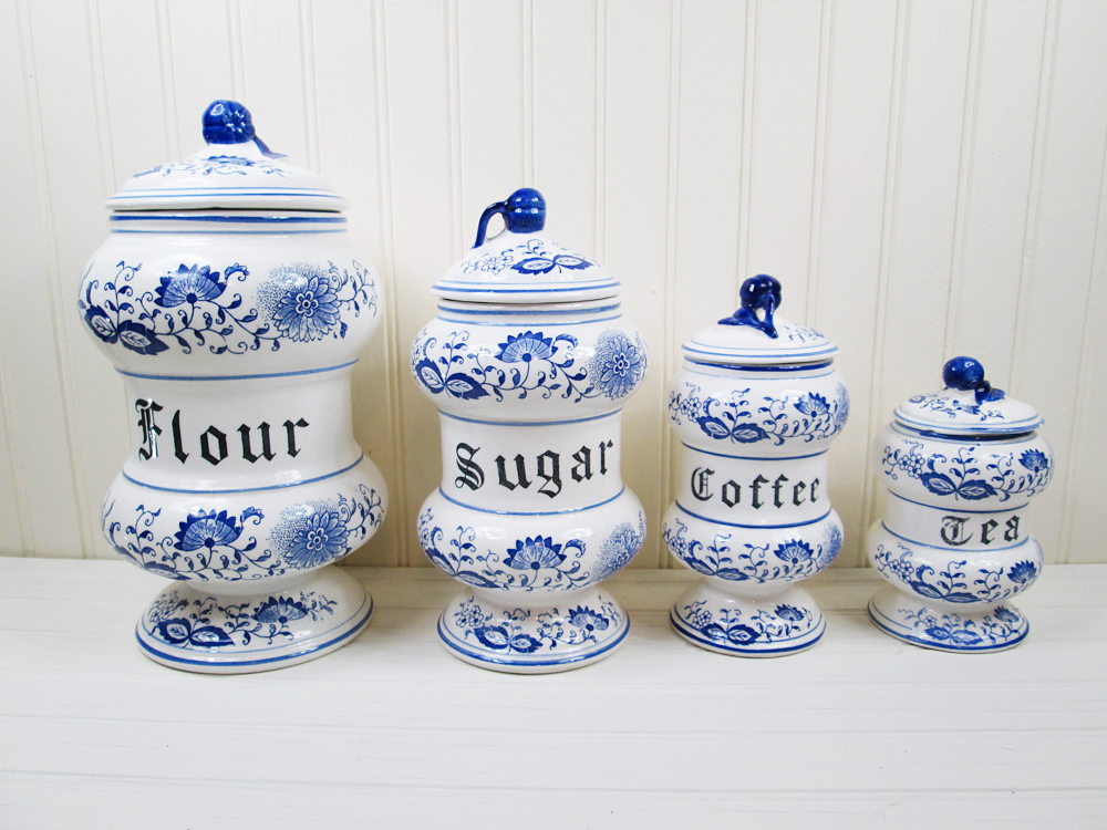Sorry, blue onion canister set opinion