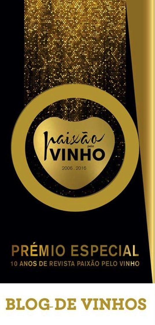 Prémio Especial Paixão Pelo Vinho - Blogger do Ano 2016