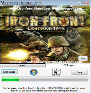 iron front 1944 cd key