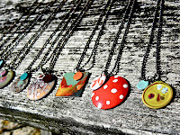 Barbara Lewis summertime necklaces